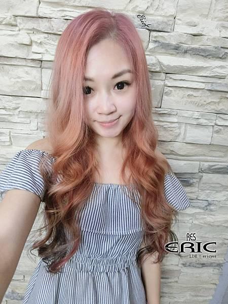 2018女生髮型髮色染髮接髮長髮2017