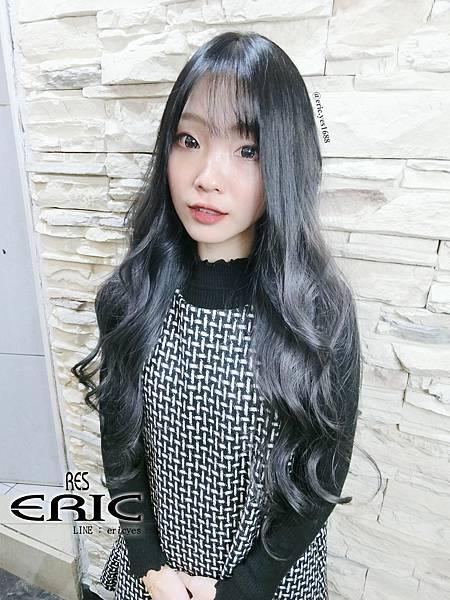 2018女生長髮髮型髮色三重染髮