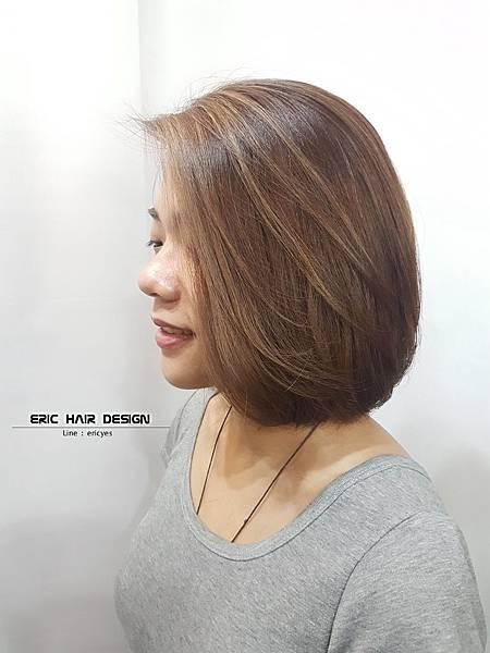 2019女生髮型髮色,三重染髮,蘆洲染髮