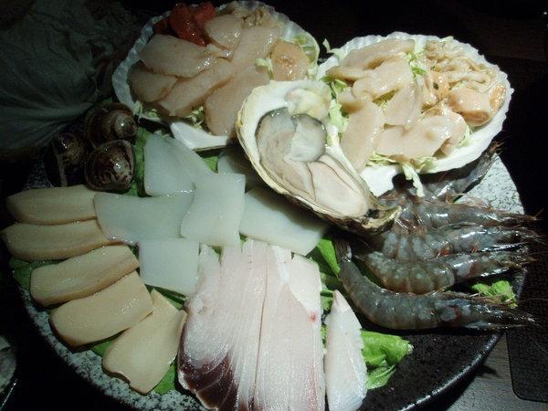 ♠干貝海鮮鍋