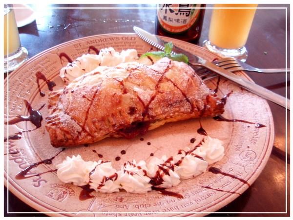♪酥烤肉桂蘋果捲♪