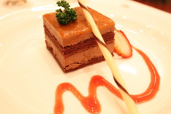 deer的甜點巧克力蛋糕