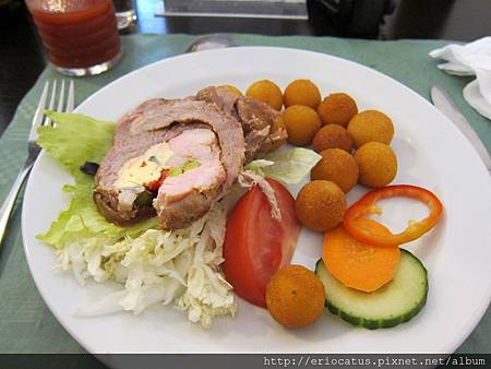 捷式肉捲餐-主菜