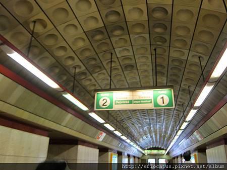 布拉格-地鐵站