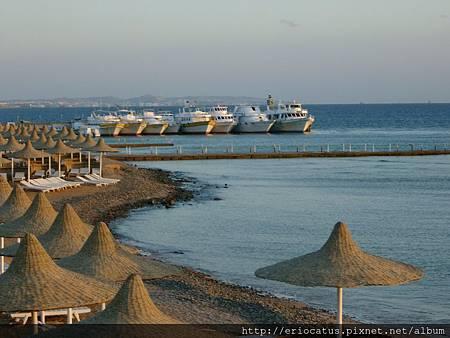 紅海邊的飯店
