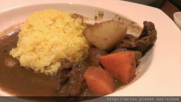 牛肉咖哩黃金飯