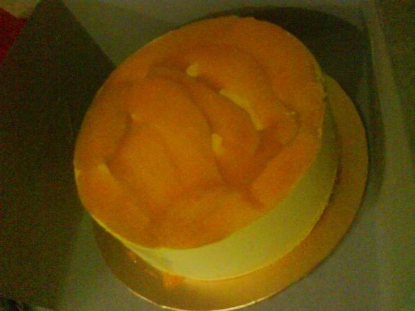 mango mosse cake
