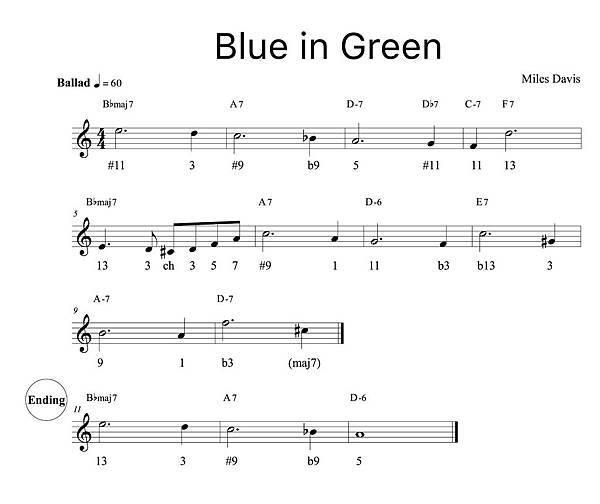 Blue in Green (分析).jpg