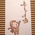 小猴吃香蕉.jpg