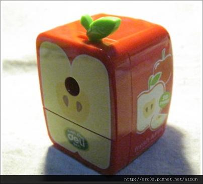 蘋果削鉛筆