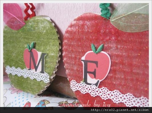 綠紅蘋果3