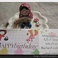 小紅帽生日卡2