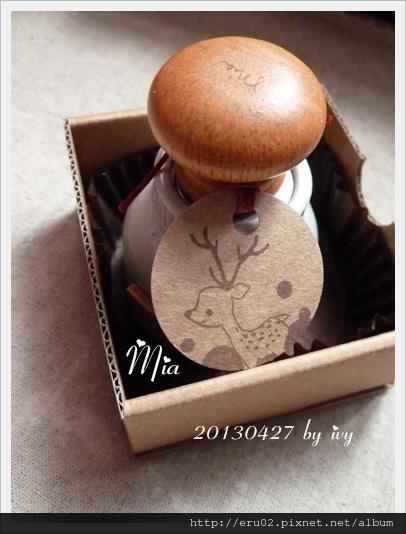 Mia蘑菇頭章