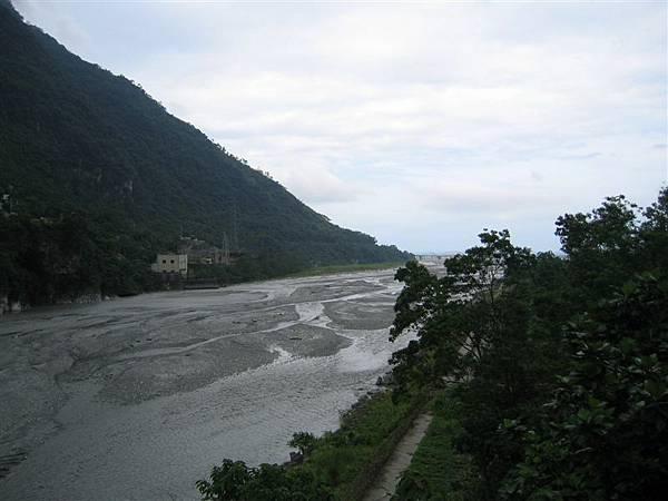 太魯閣河景