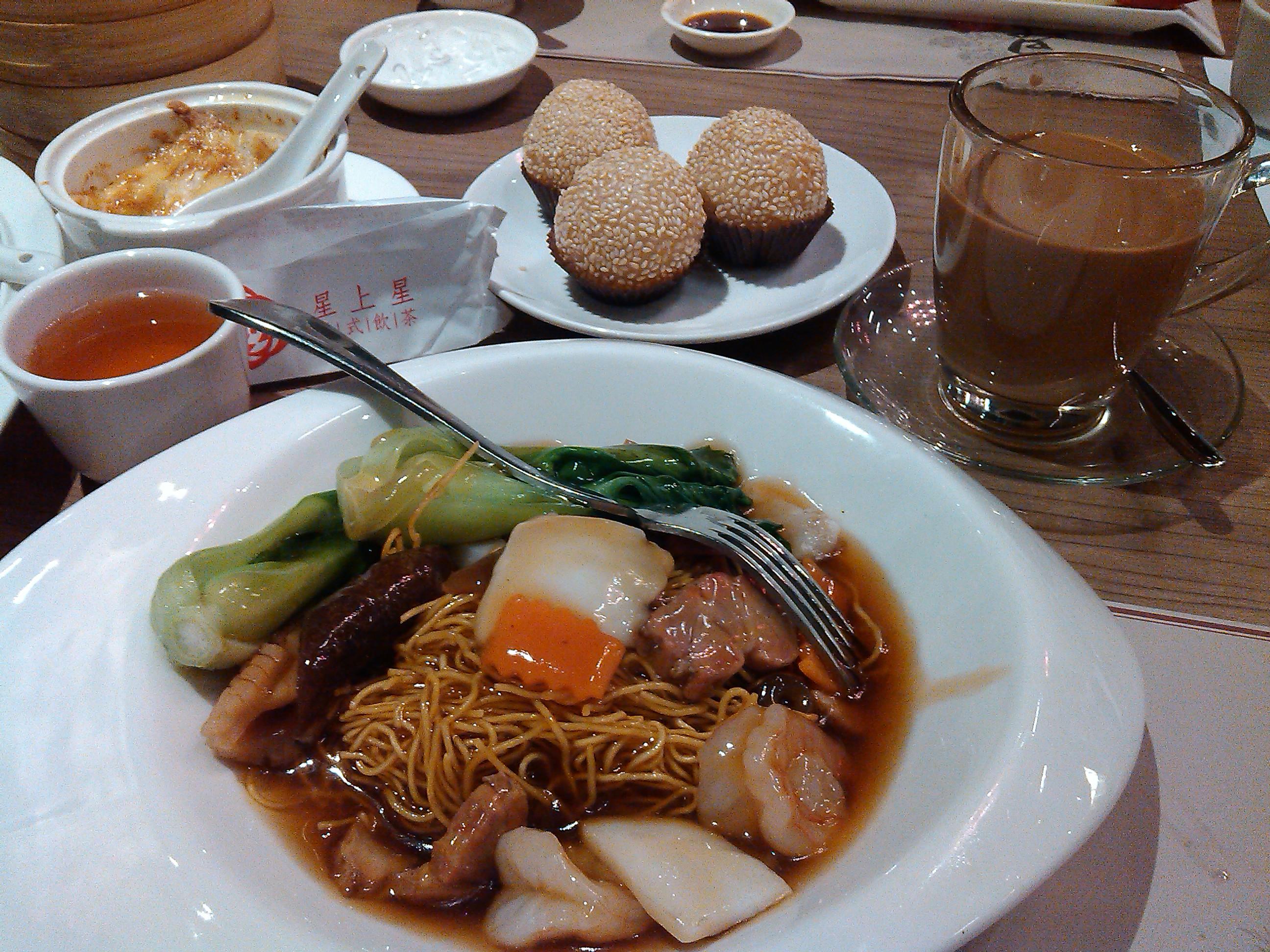 星上星 巨城 廣州炒麵