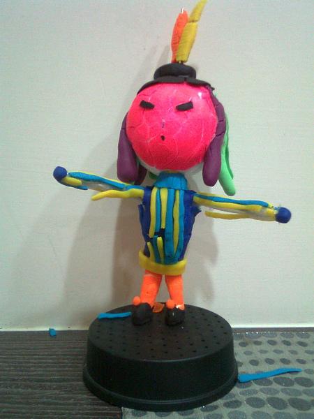 Play-Doh黏土作品