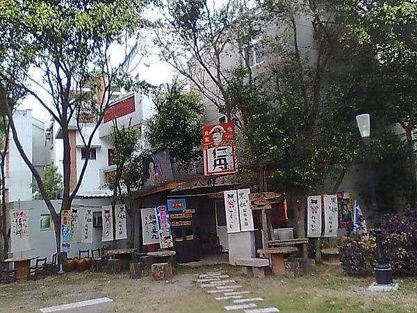 澎湖馬公老街景