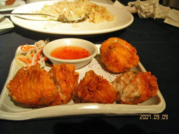 泰式海鮮餃
