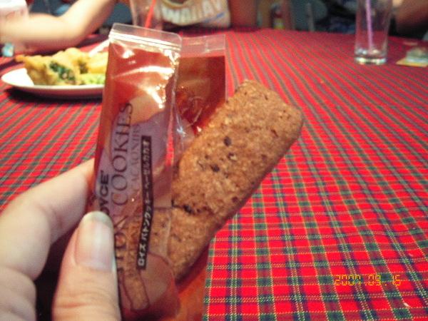 單片包的巧克力餅