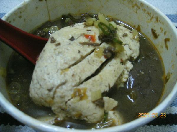 臭豆腐很入味