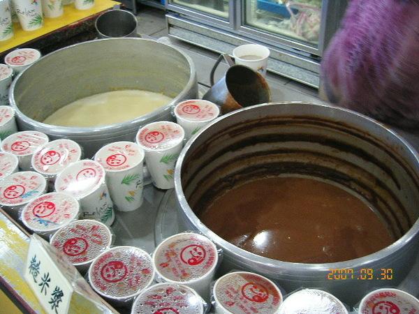 豆漿和糙米漿