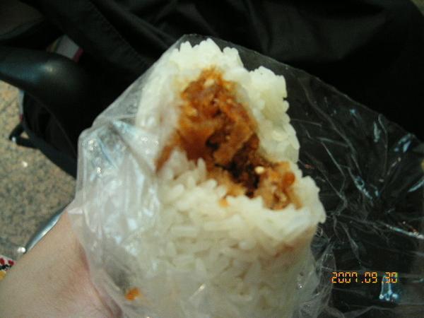 料和米飯比例很棒