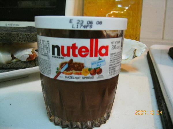 超美味Nutella榛果巧克力醬