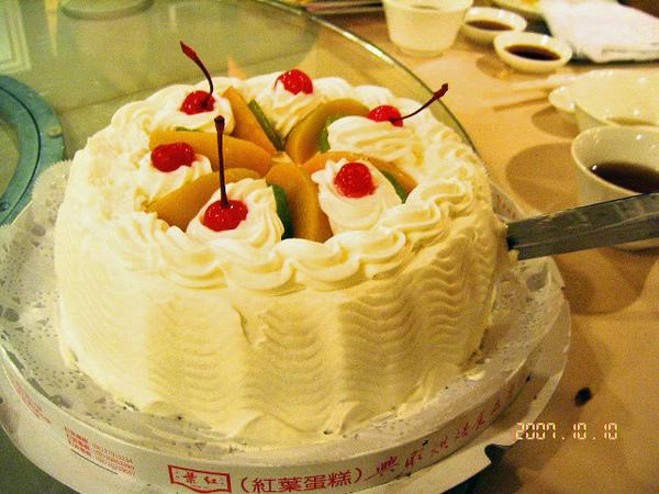 紅葉蛋糕 - 巧克力蛋糕