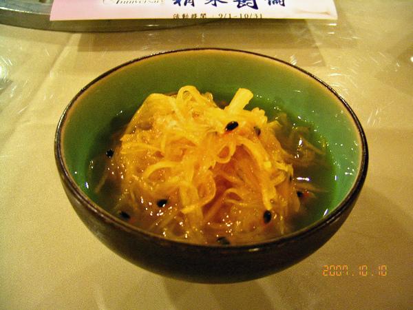 小菜~百香木瓜絲