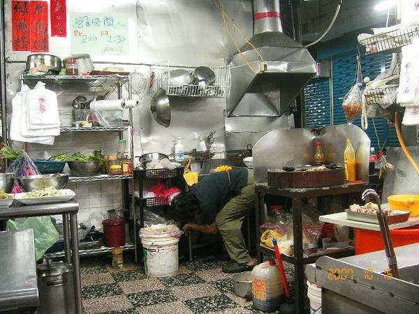 這裡是老闆阿桃的炒炒工作區