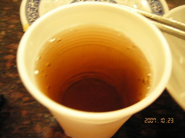 淡淡的紅茶