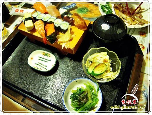 握壽司定食1