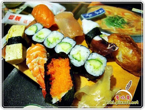 握壽司定食2