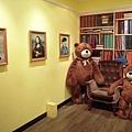 泰迪熊博物館內唯一可以照相的區域