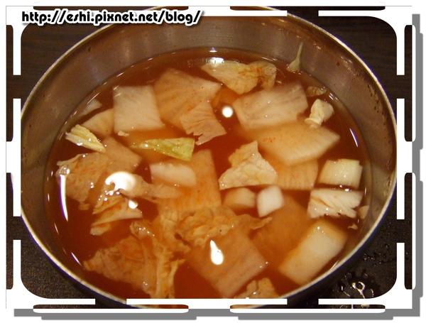 * 泡菜冷湯 *