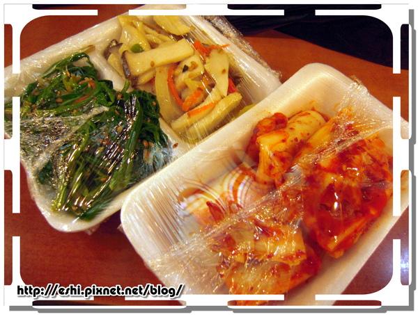* 豆腐鍋的配菜 *