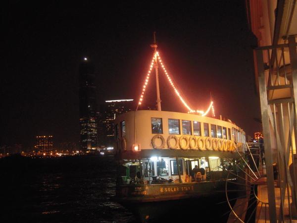 到香港必搭的天星小輪