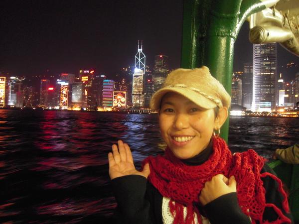 夜景是香港名產之一