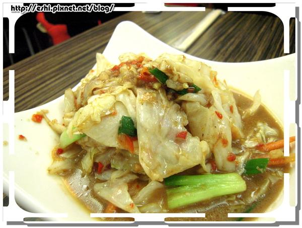 * 蝦醬高麗菜 $60 *