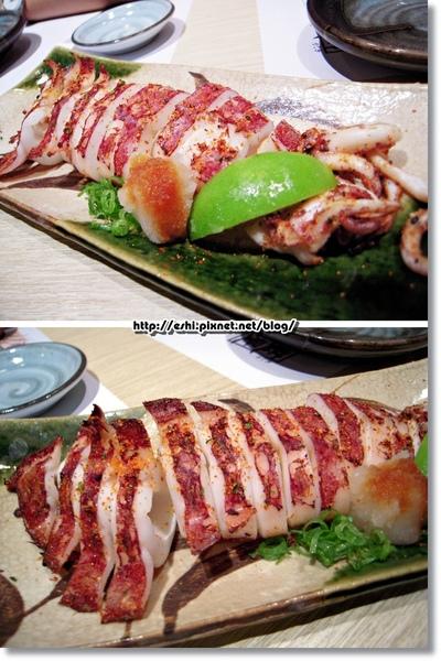 * 烤魷魚 $80 *