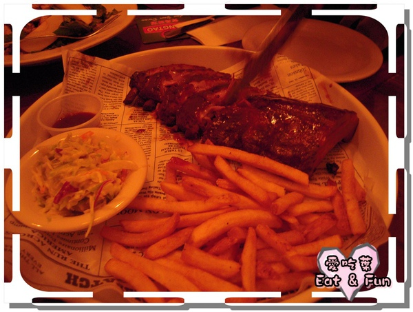 * Dixie Style Baby Back Ribs  HK$198 *