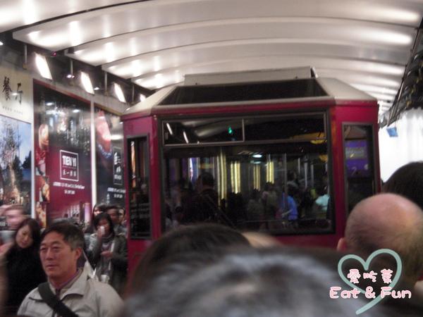 太平山纜車~超多人坐