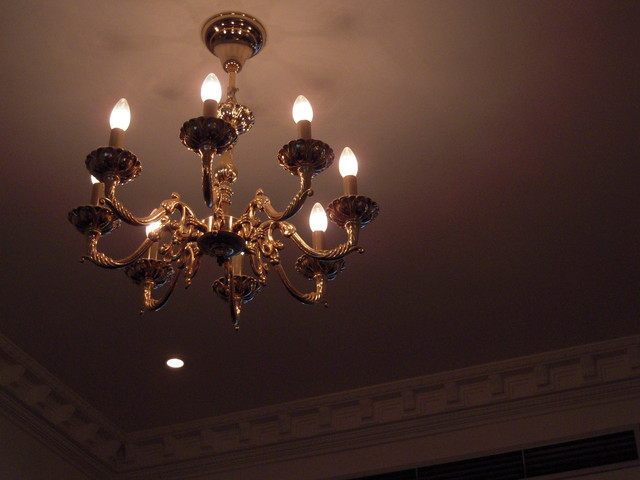 華麗的吊燈