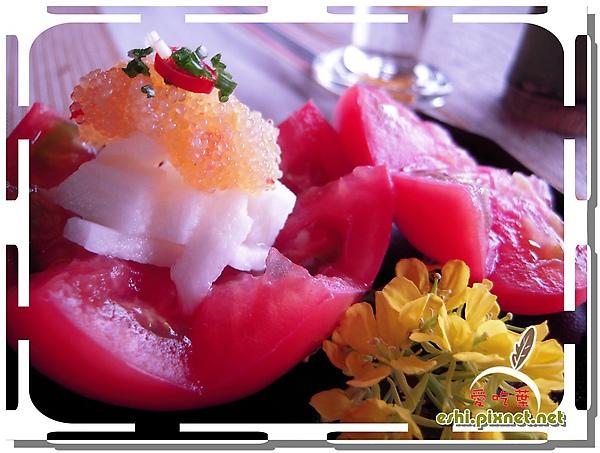 * 魚子山藥蕃茄沙拉 *
