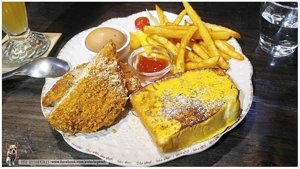 漫漫弄 /台南 餐廳 / 寵物 友善 餐廳 藍帶起司豬排