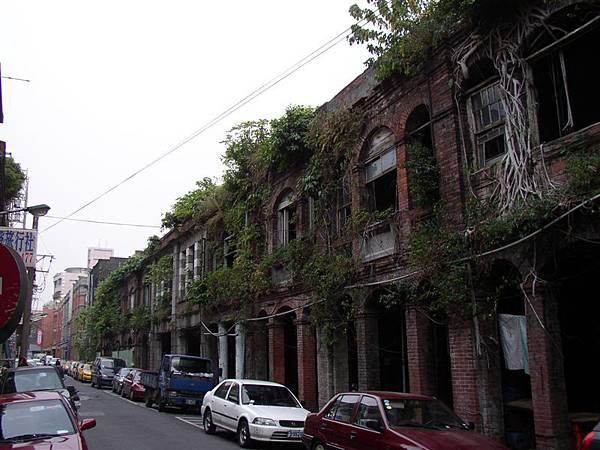 121.中北街與益保裕街口荒廢的老屋