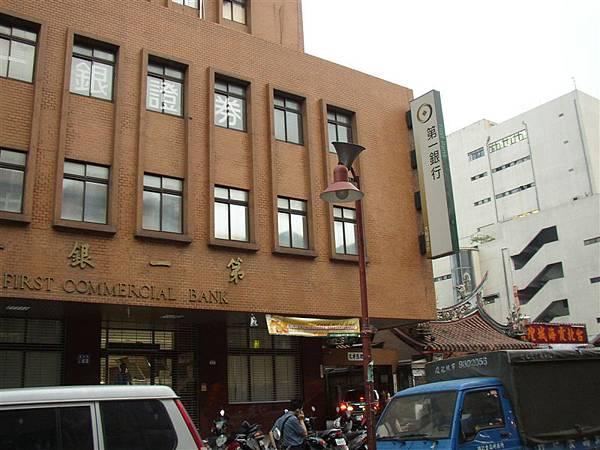 121.第一銀行與霞海城隍廟是迪化街兩大權力中心