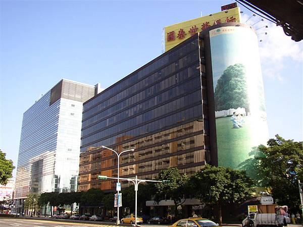 162.國泰大樓為德國代表處所在,新光民生大樓據說是龍脈所在