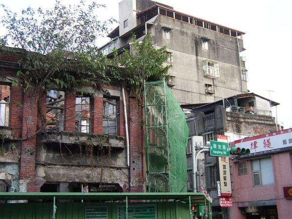 131.剝皮寮老街西段尚在整修中