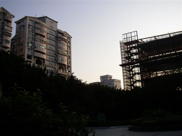 211.興建中的士林運動中心